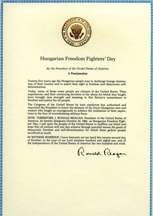 A képhez tartozó alt jellemző üres; Ronald_Reagan_Proclamation_ImageHDStudio.jpg a fájlnév